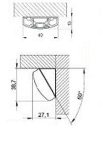 3x 9 Watt, 84,20 cm