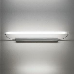 Schwenkbare Spiegelleuchte in Chrom in 92cm Länge 1x 39 Watt, A, 92,00 cm, 18,00 cm, Leuchtstofflampen