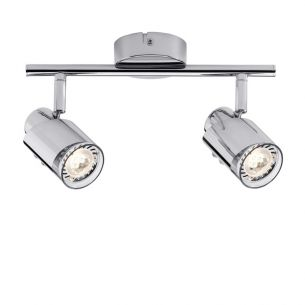 LED-Strahler in Chrom inklusive 2x 3.5W GU10 LED
