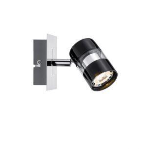 LED-Strahler in Chrom und Schwarz inklusive 3.5W GU10 LED