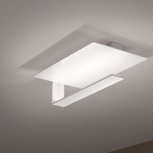 LED-Deckenleuchte in Mattweiß - 12x1Watt = 1140 Lumen weiß