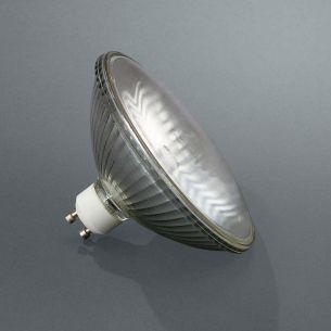 Halogenreflektor 50W- 230V,  Reflektor  alubeschichtet  mit Abschatter,  2700K