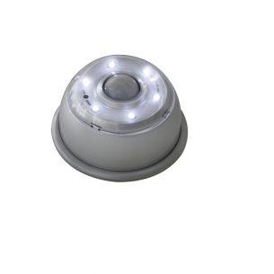 LED-Nachtlicht mit Bewegungsmelder in Silber