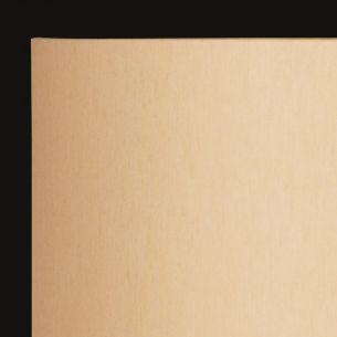 Moderne Wandleuchte - Made in Germany - Halbrunder Chintz-Stoffschirm - Champagner champagnerfarben