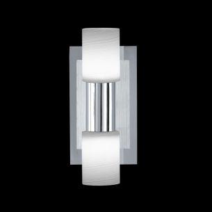 LED-Wandleuchte mit gewischten Gläsern 700 Lumen 3000K