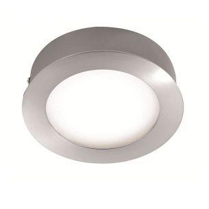 Moderne LED-Deckenleuchte mit RGB-Farbwechsel - Nutzung als Einbau-Downlight oder als Aufputzleuchte - 14,5 cm Durchmesser