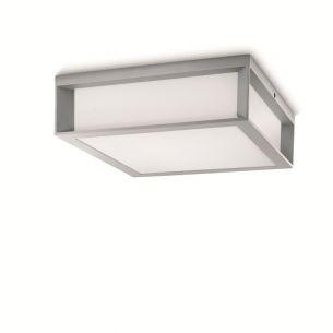 energiesparende Außendeckenleuchte mit fünf Lichtaustritten inklusive 2x 14W Energiesparlampe