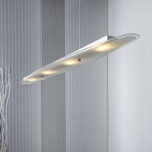 LED Pendelleuchte in schlichtem Design - Inklusive LED 4 x 3 Watt  + LED Taschenlampe