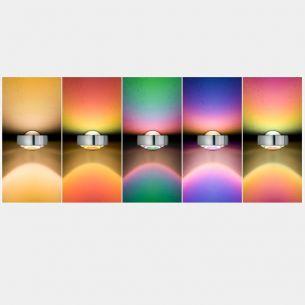 Farbfilter zu Sento von OCCHIO in gelb, rot, grün, blau oder magenta