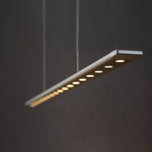 LED-Pendelleuchte ANAX von Liin - Länge 102cm - in 8 Ausführungen - dimmbar - LED 30W - Lichtfarbe 3000K