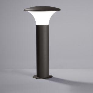 LED-Pollerleuchte mit E27 LED-Leuchtmittel, 1x4Watt warmweißes Licht, 3000K, IP44
