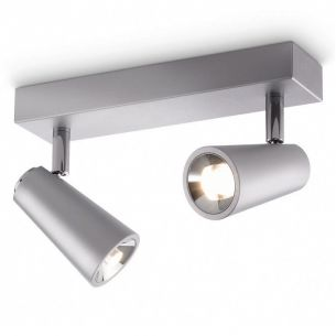 LED - Strahler-Serie - Aluminium - Deckenspot  2-flammig