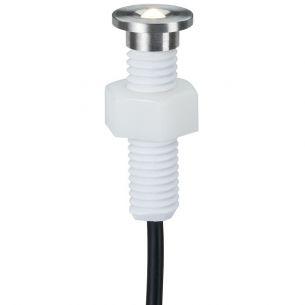 5er LED-Einbaustrahler als Ergänzungsset - Edelstahl mit Schraubvorrichtung
