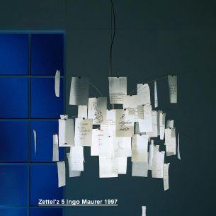 Zettel'z 5 - Designleuchte von Ingo Maurer 1997