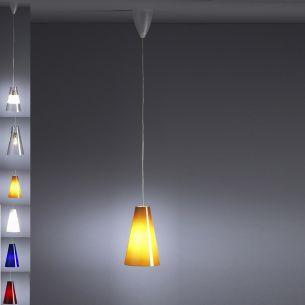 TECNOLUMEN, 1 flammige Pendelleuchte Design Walter Schnepel 2003, in auffälligeren Farbvarianten wählbar