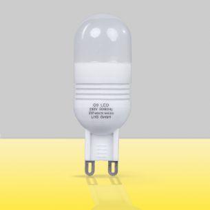 LED, G9, 3 Watt, 2700 Kelvin, 200 Lumen