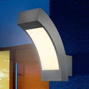 LED-Wandleuchte, Aluminium anthrazit eloxiert, 40 LEDs, insgesamt 2,7 Watt, LED neutralweiß