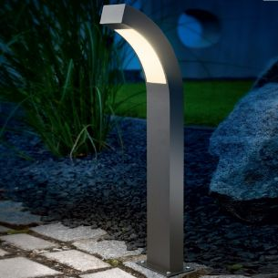 LED-Standleuchte in Aluminium anthrazit, LED 2,7W - 60cm 60,00 cm