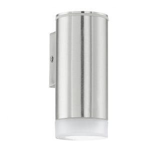 Dezente LED-Außenwandleuchte mit einseitigem Lichtaustritt - inklusive LED-Leuchtmittel