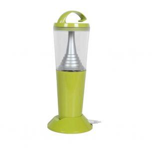 Portable Solar-LED-Leuchte mit Magnetfuß, USB-Adapter und Netzteil