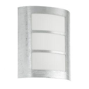 Außenwandleuchte aus feuerverzinktem Stahl bestellbar für Energiesparlampen bis 15W geeignet