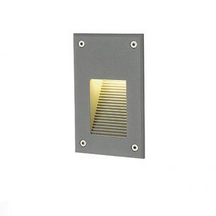 LED-Wandeinbauleuchte für Innen oder Außen geeignet, IP54, LEDs in warmweiß