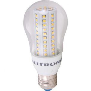 Leuchtmittel Heitronic A60 LED, 4 Watt, E27, klar, 380 Lumen klarer Glaskolben