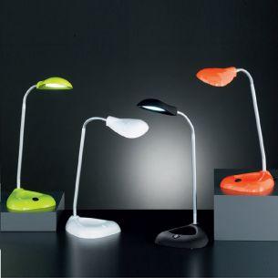 Flex-Schreibtischleuchte, 1x3Watt Power-LED, in 4 Farben