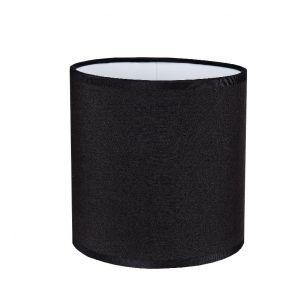 deckenleuchte 4 flammig mit stoffschirmen schwarz wohnlicht. Black Bedroom Furniture Sets. Home Design Ideas