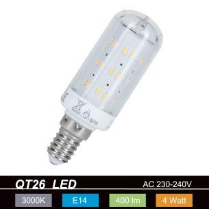 LED-Leuchtmittel mit E14-Sockel - 4 Watt, 3000 K, warmweiss, 400 Lm