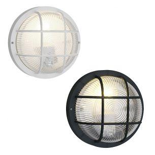 Individuell einsetzbares Allroundtalent für innen oder außen - in Schwarz oder Weiß - Ø 18,5cm - IP44