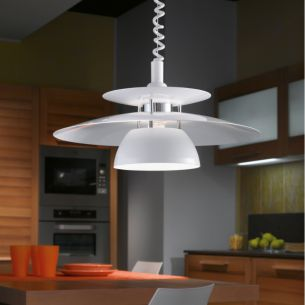 Effizientes Reflektoren-Pendel in klassischer Form - höhenverstellbar