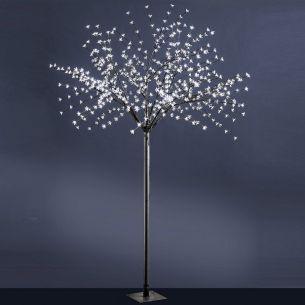 Dekorativer 240cm hoher LED-Baum für INNEN und AUßEN geeignet