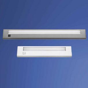 1x 13 Watt, silber, 55,50 cm, Leuchtstofflampen