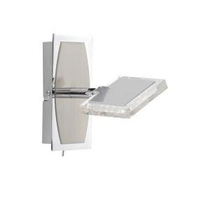Wandstrahler mit modernster LED-Technik, inklusive 1 x 4W High-Power LED-Board