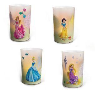Disney-LED-Kerzen-automatisches sanftes Kerzenflackern- Sicher und Kinderfreundlich! In verschiedenen Motive erhältlich