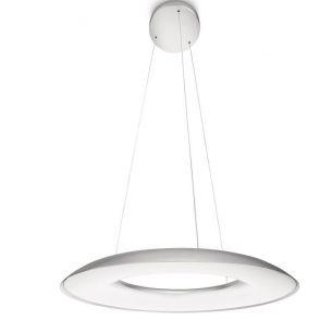 LED-Pendelleuchte myLiving Ayr-Design mit moderner LED-Lichttechnik, inklusive 8x 2,5Watt LED, 2700°K-Oberfläche in Aluminium