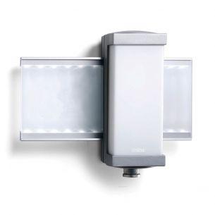 LED-Hausnummernleuchte aus weißem Acrylglas mit Infrarot-Sensor - inklusive Klebenummern und Leuchtmittel