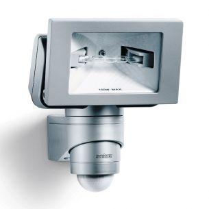 Sensor - Halogenstrahler aus Kunststoff und Keramik - inklusive Infrarot - Sensor und Leuchtmittel