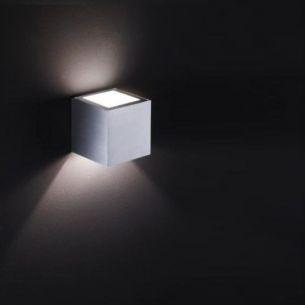 1 Streuscheibe für die Up and Down Wandleuchte in  Weiß-matt oder Aluminium-matt