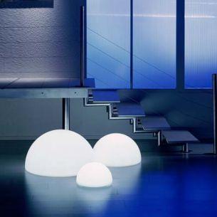 Flexibel einsetzbare Halbkugel - Lichtszene MOONLIGHTS -  Ø von 35cm bis 75cm wählbar, mit 5 Meter Kabel und Stecker