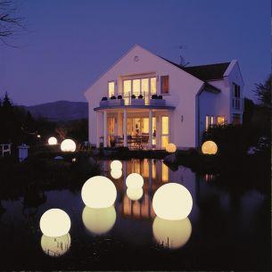 Schwimmleuchte - Lichtszene MOONLIGHTS - IP65, Kugelleuchten, Ø von 25cm bis 75cm und Kabellänge wählbar