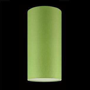 Stoffschirm in Apfelgrün - kombinierbar mit verschiedenen Gestellen, 16 cm, Höhe 32 cm apfelgrün