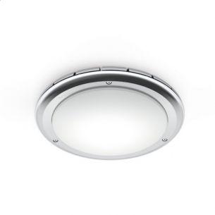 Sensor Leuchte Ø 30cm, RS PRO LED S1 IP65, 16 W LED, schlagfeste Haube wählbar, IK10