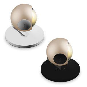 Tischleuchte io3d basso LED 18W C 2700K mit Linse von OCCHIO - Stilwelt gold edition