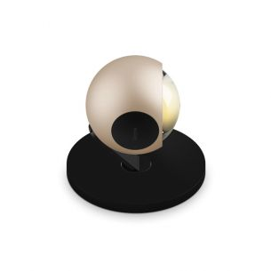gold/schwarz, Head gold/Pads schwarz matt/Body schwarz matt/Base schwarz matt