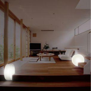 LED - Treppenleuchte Outdoor & Indoor geeignet mit 6Watt LED-Modul inklusive Fernbedienung und RGB-Farbwechsel