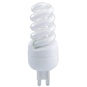 Energiesparlampe G9 TC-HSE  9 Watt Spiral 2700 Kelvin
