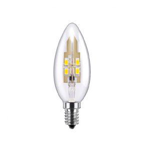 C35 LED Kerze 3,5 Watt, E14, klar, dimmbar 1x 3,5 Watt, A+, 3,5 Watt, 25,00 Watt, 250,0 Lumen, 95,00 mm