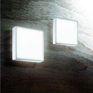 Schlichte LED-Wand- oder Deckenleuchte - IP65 - in 4 Ausführungen - wählbar mit warmweißer oder neutralweißer Lichtfarbe und unterschiedlicher Wattage - 15/27Watt